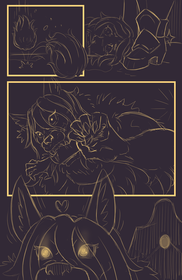 Shewolf Bride - Page 20 (WIP)